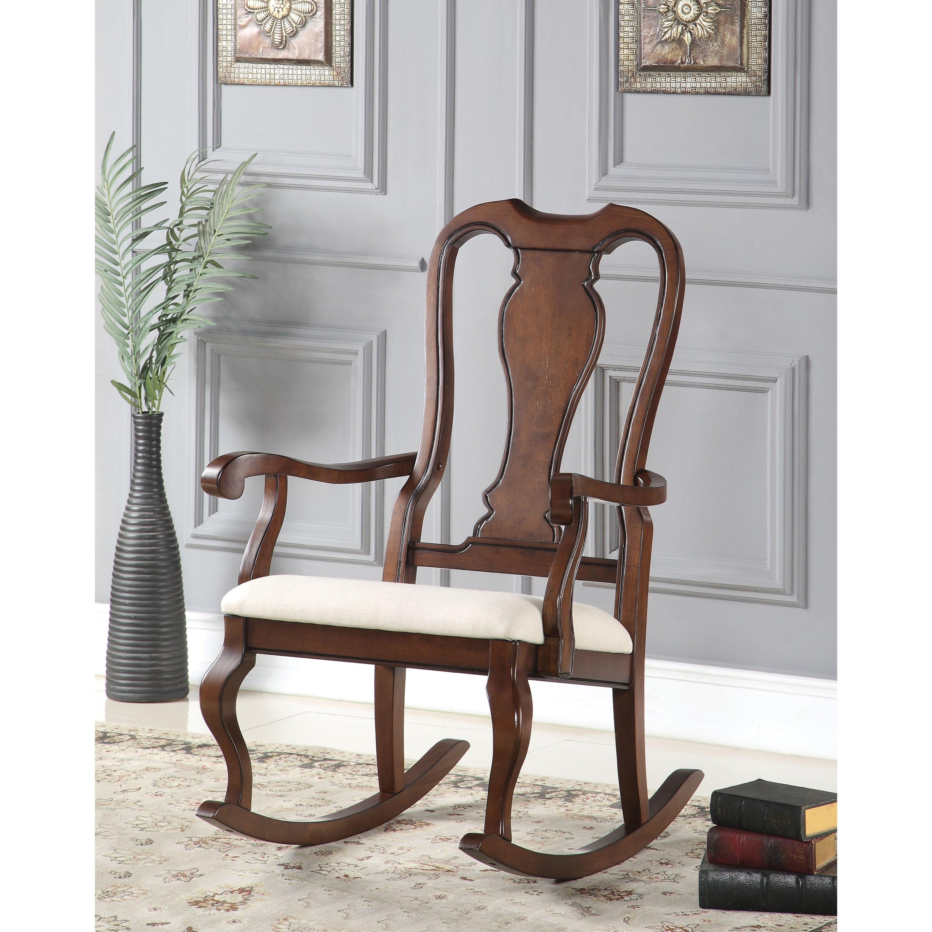 Sheim Rocking Chair by Acme Furniture at Carolina Direct
