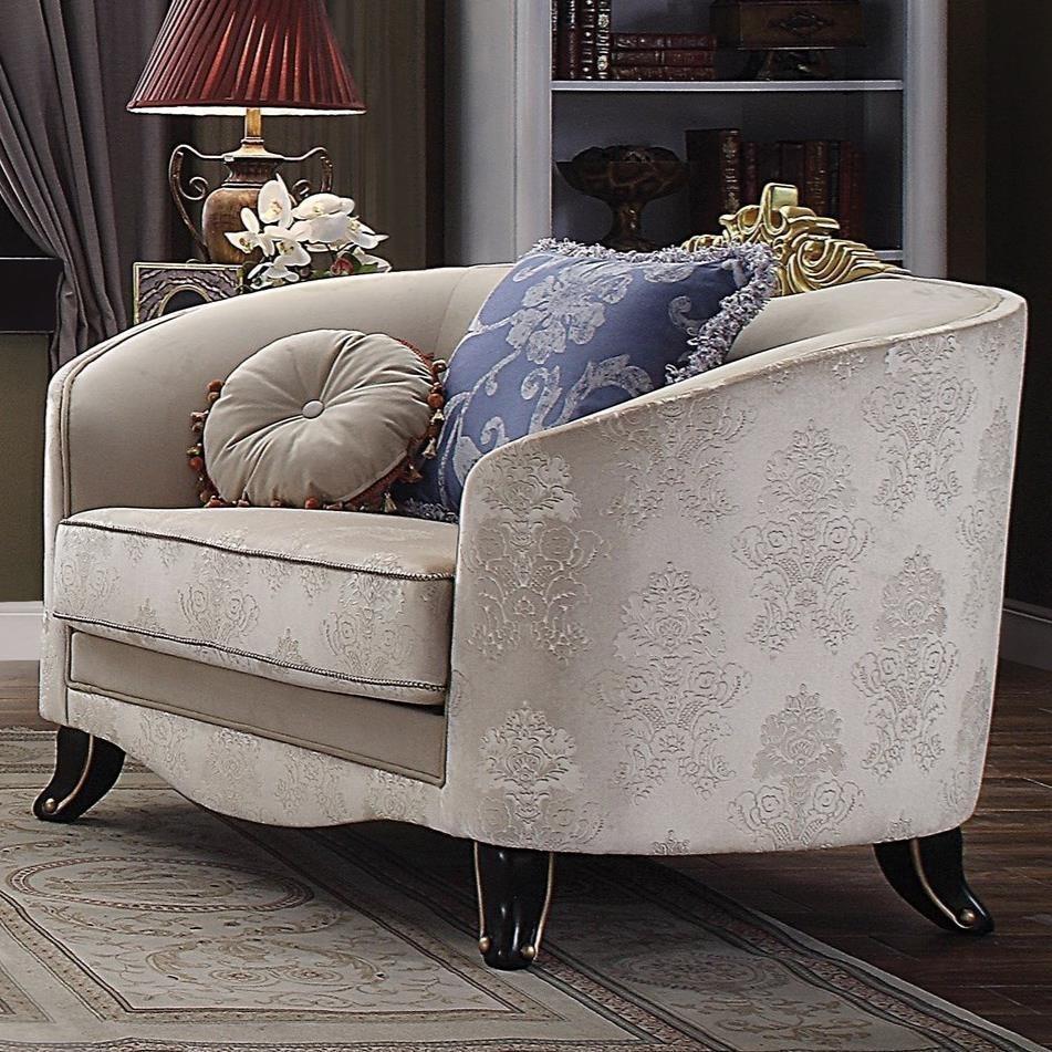 Sheridan Chair & 2 Pillows by Acme Furniture at Carolina Direct