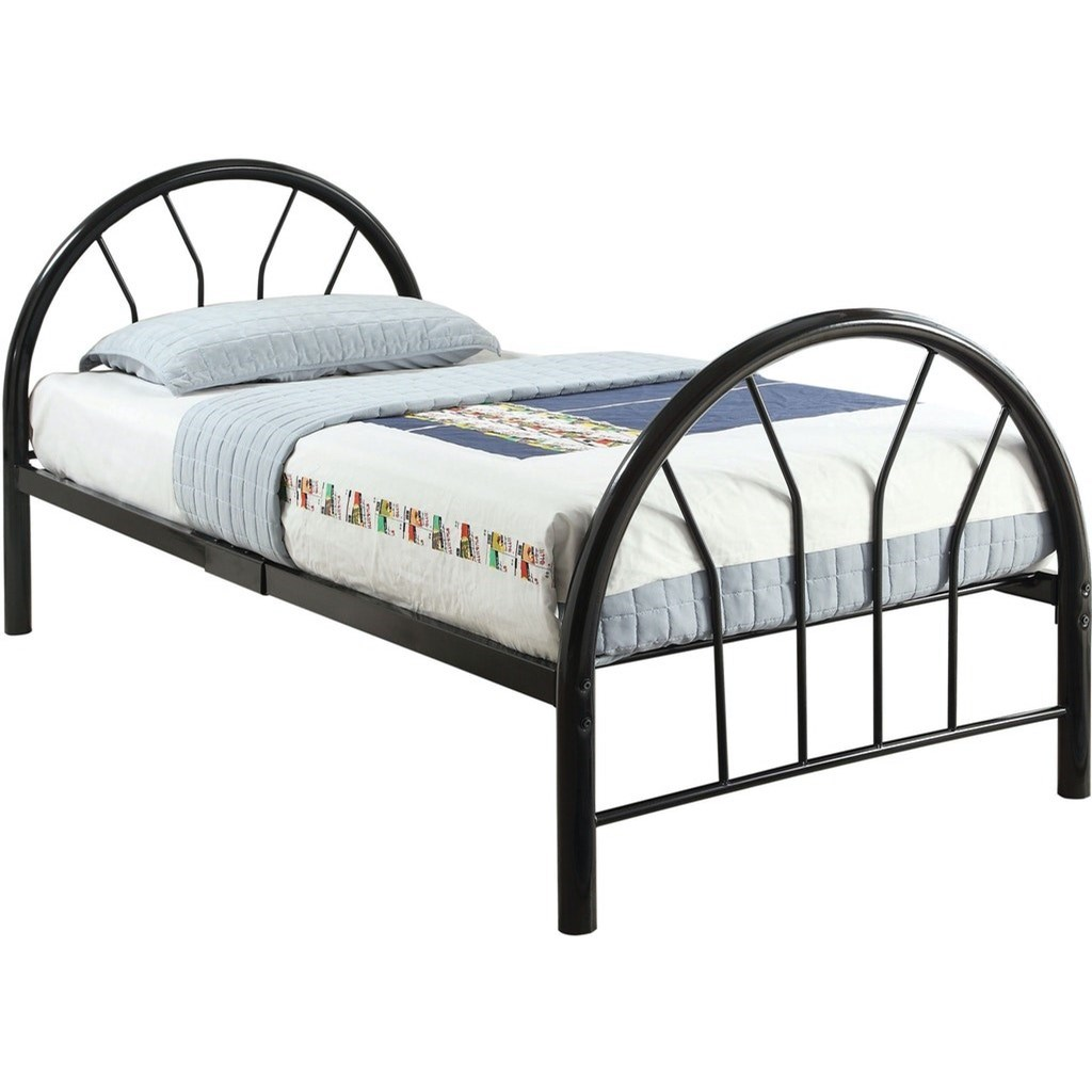 Silhouette Twin Bed by Acme Furniture at Del Sol Furniture
