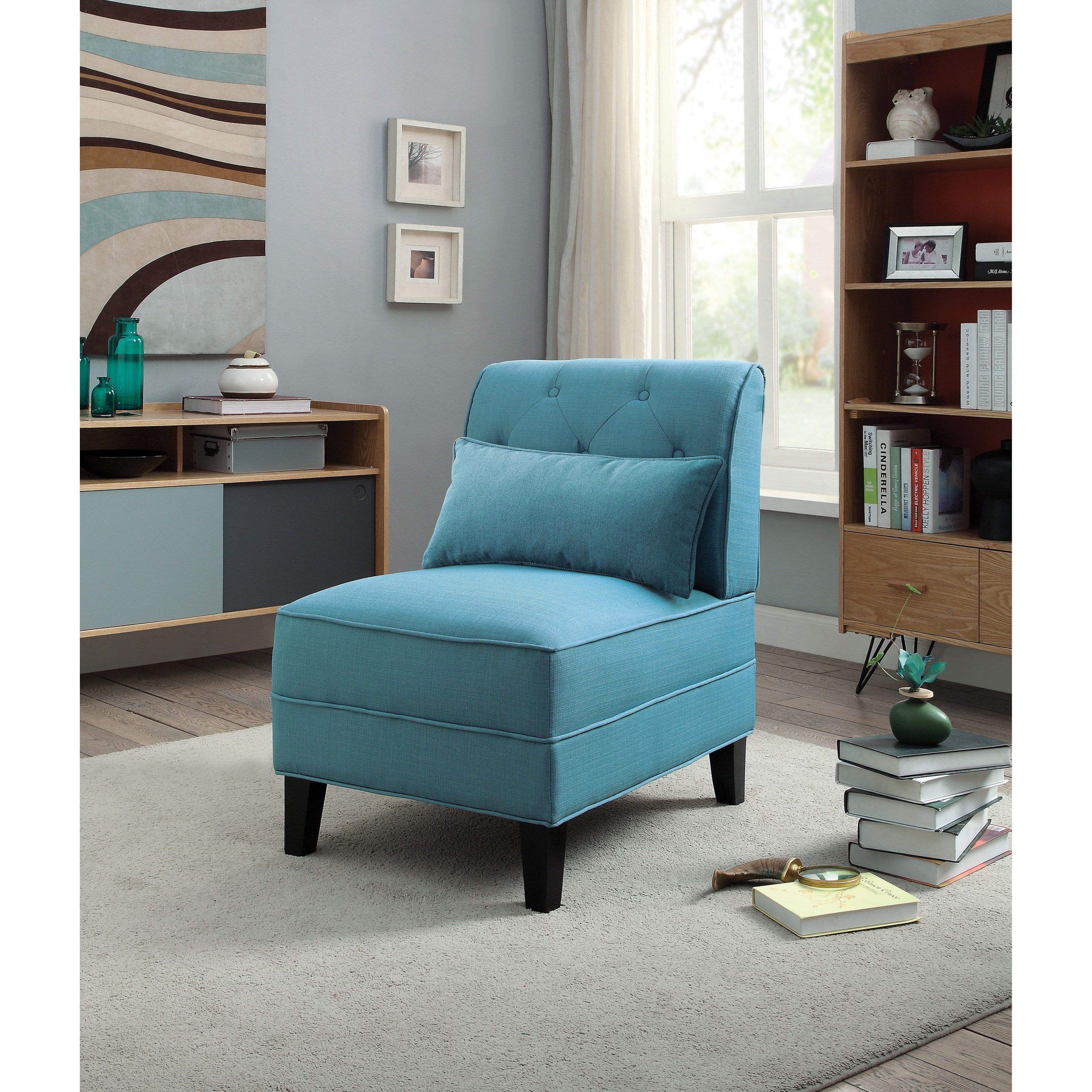 Susanna Upholstered Accent Chair by Acme Furniture at Carolina Direct