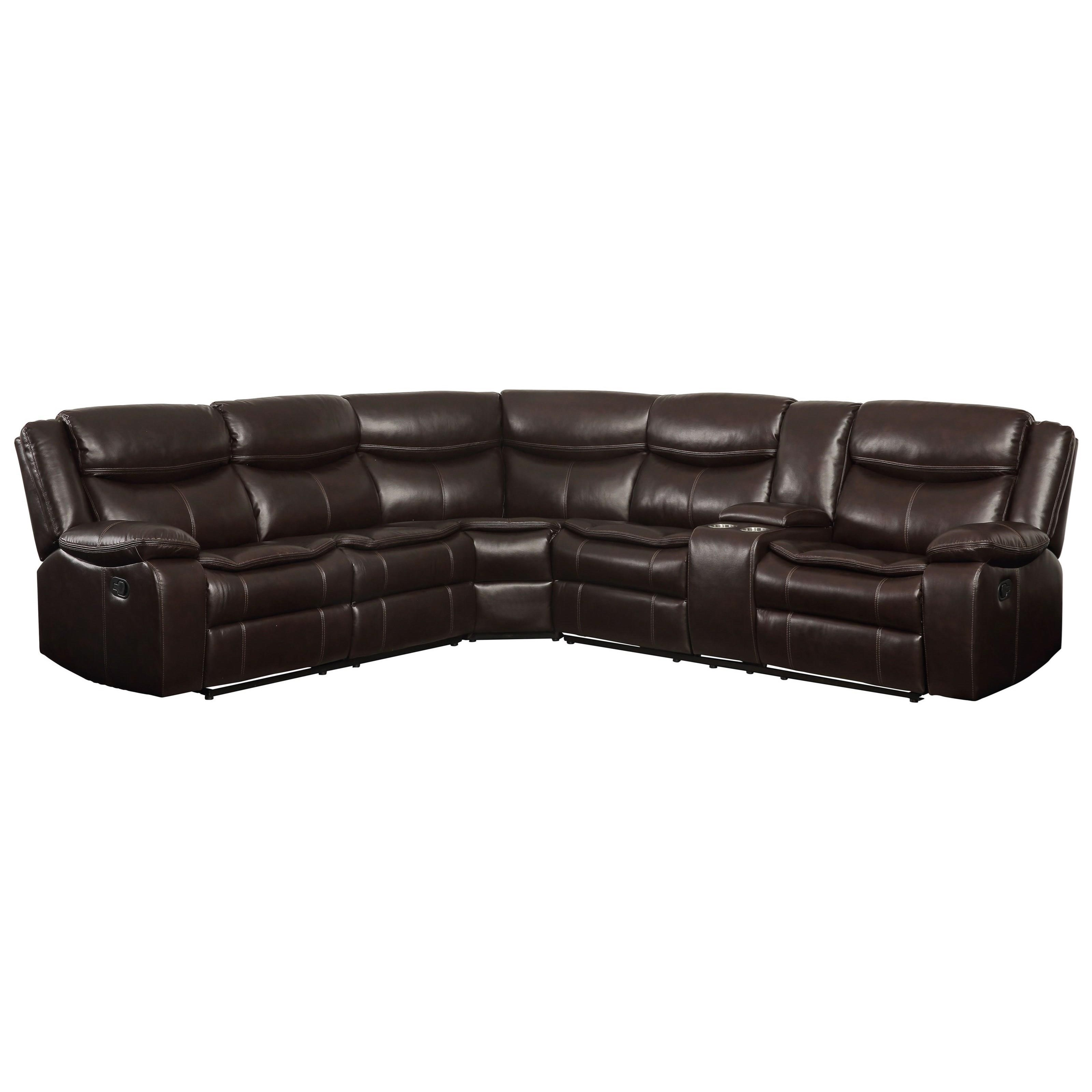 Tavin Sectional Sofa by Acme Furniture at Dream Home Interiors