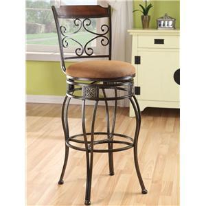 Acme Furniture Tavio Swivel Bar Chair
