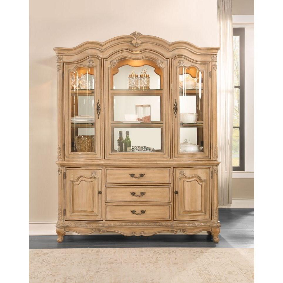 Teagan Buffet and Hutch  by Acme Furniture at A1 Furniture & Mattress