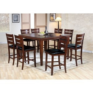 9 Piece Counter Height Dining Group