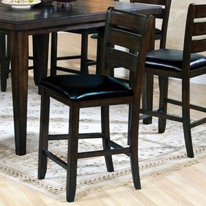 Counter Height Ladder Back Chair