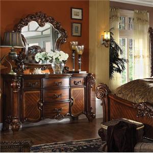 Acme Furniture Vendome Dresser and Mirror Set