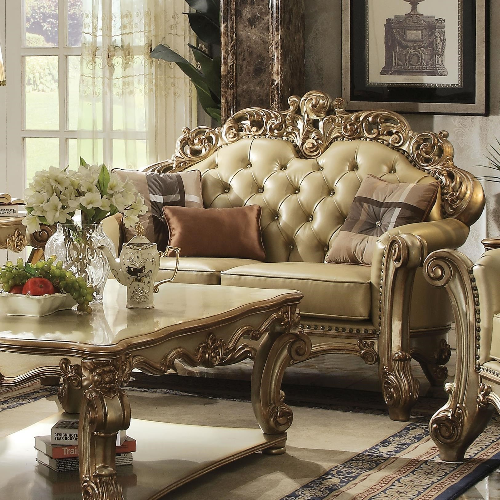 Vendome Loveseat by Acme Furniture at Rooms for Less