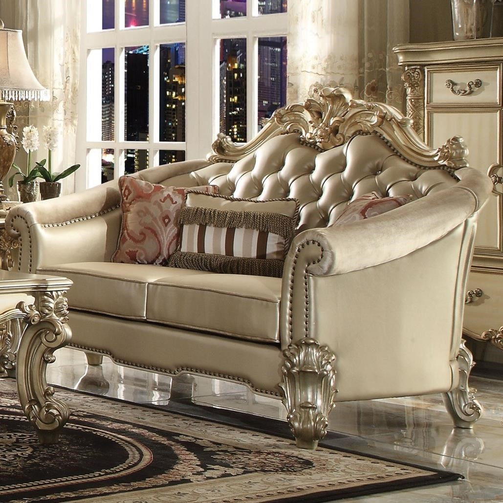 Vendome II Loveseat by Acme Furniture at Rooms for Less