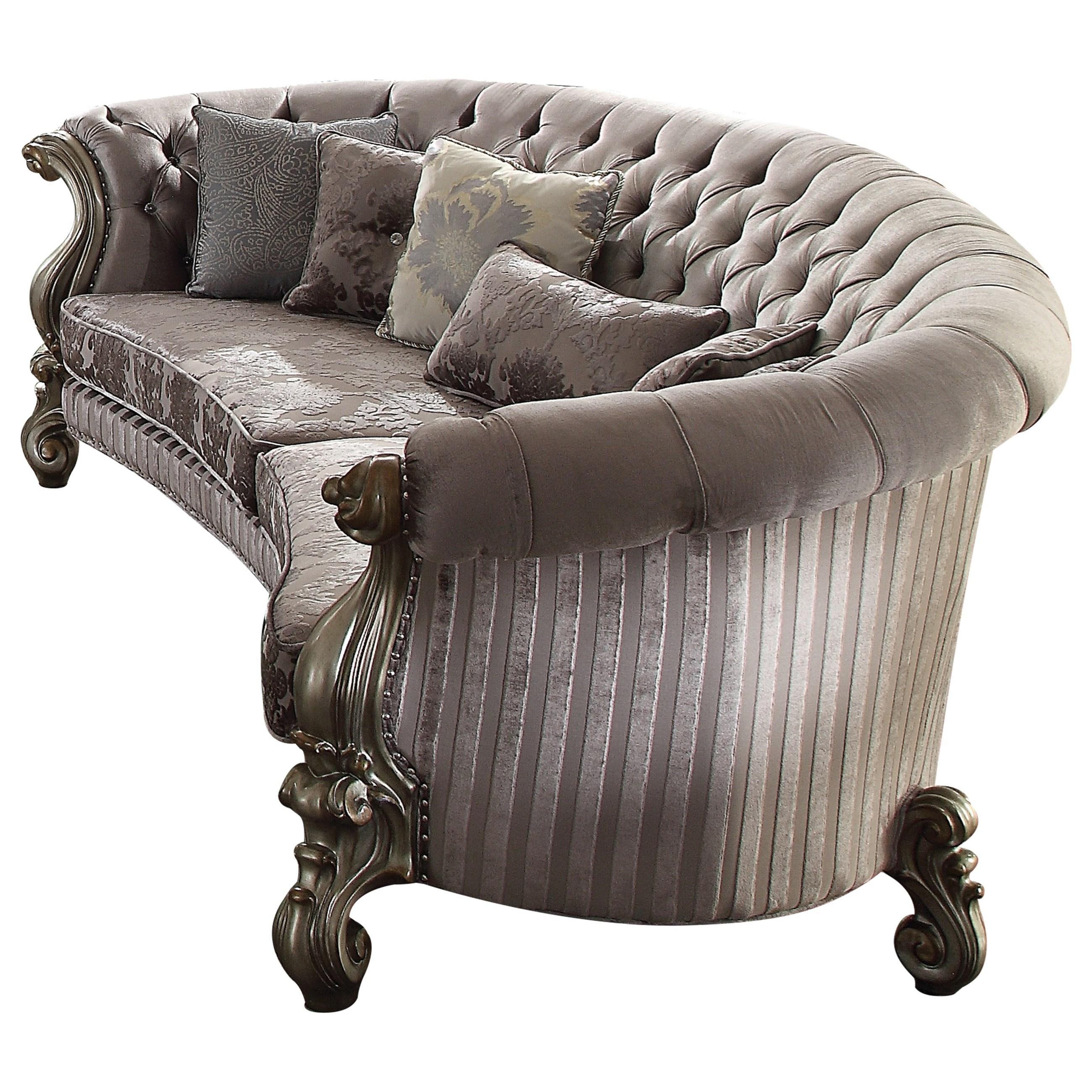 Versailles Sofa w/5 Pillows by Acme Furniture at Dream Home Interiors
