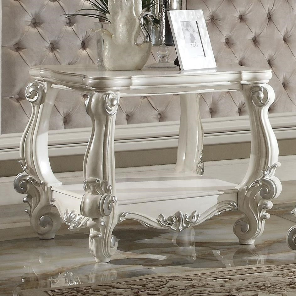 Versailles End Table by Acme Furniture at A1 Furniture & Mattress