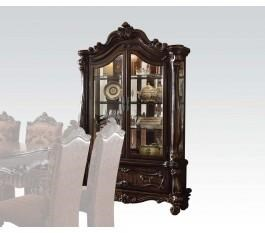 Traditional French Provincial Cherry Oak Curio