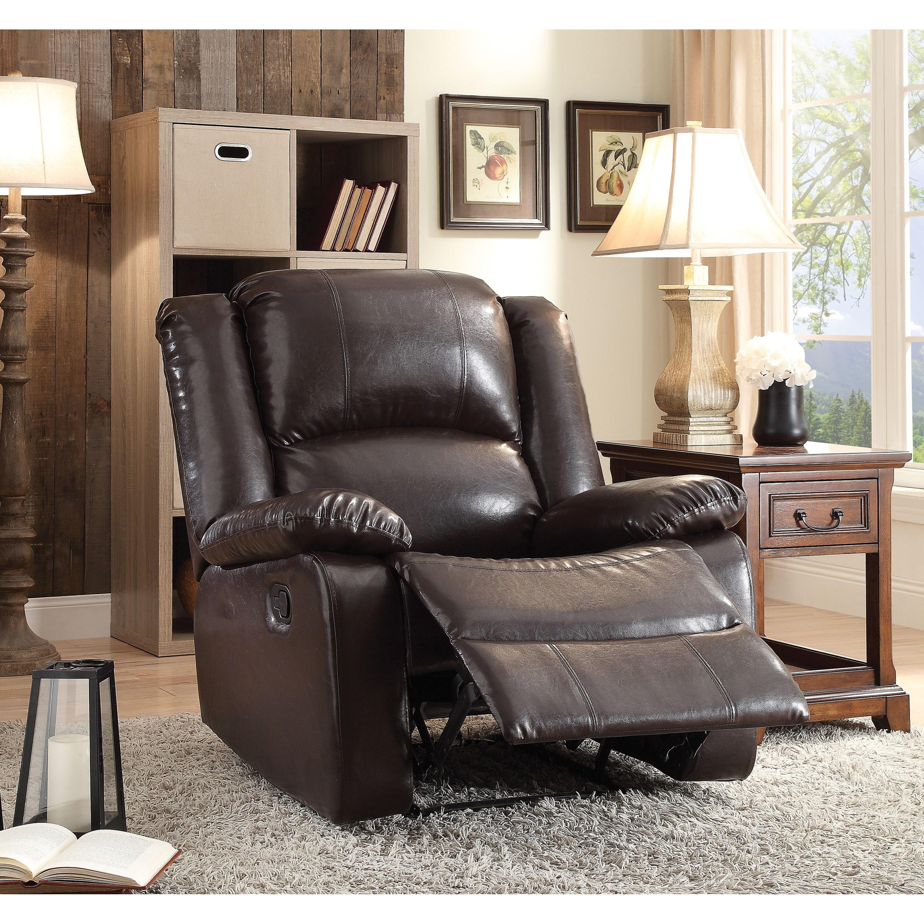 Vita Recliner by Acme Furniture at Nassau Furniture and Mattress