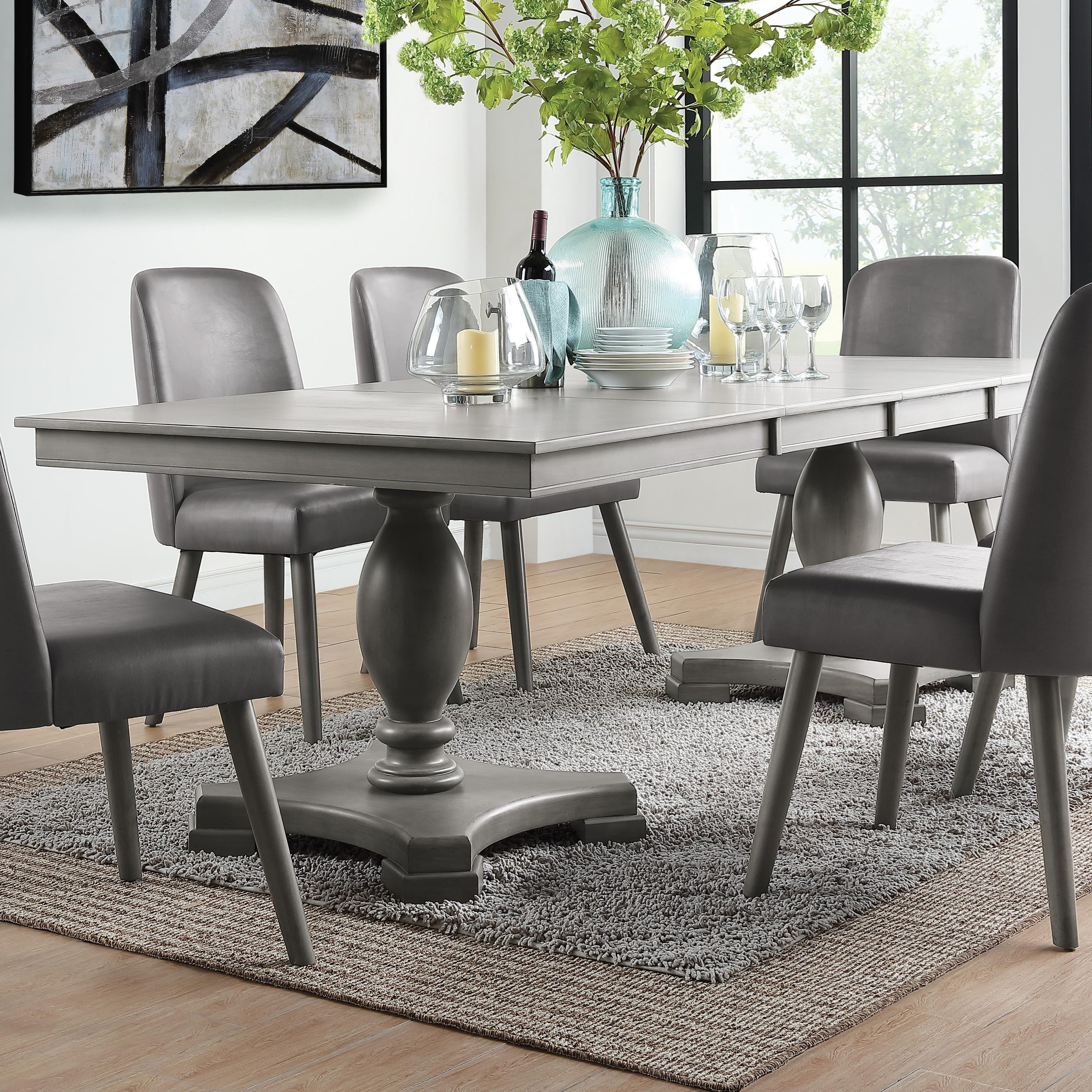 Waylon Dining Table by Acme Furniture at A1 Furniture & Mattress