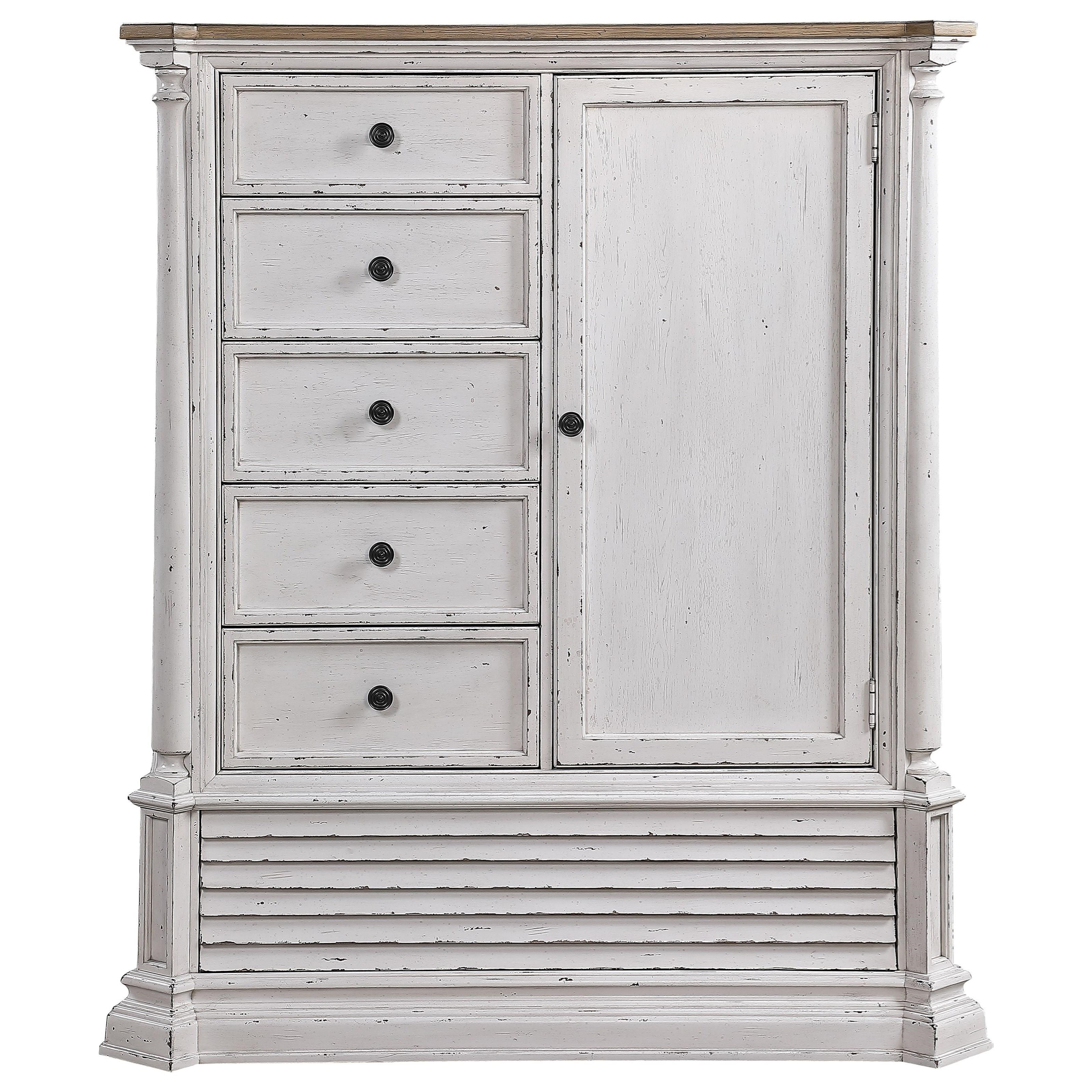York Shire Armoire by Acme Furniture at Nassau Furniture and Mattress