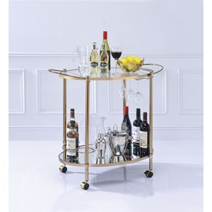 Contemporary Serving Cart