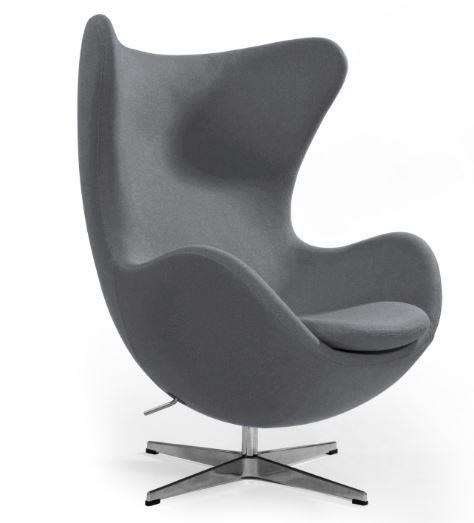 Modern Classics Columbia Lounge Chair by C.S. Wo & Sons at C. S. Wo & Sons California
