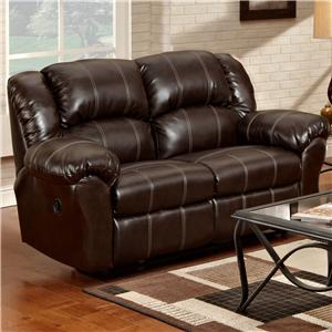 Affordable Furniture 1000 Reclining Loveseat