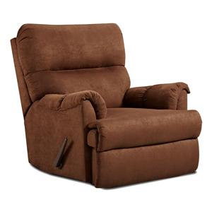 Affordable Furniture 2155 Chaise Rocker Recliner