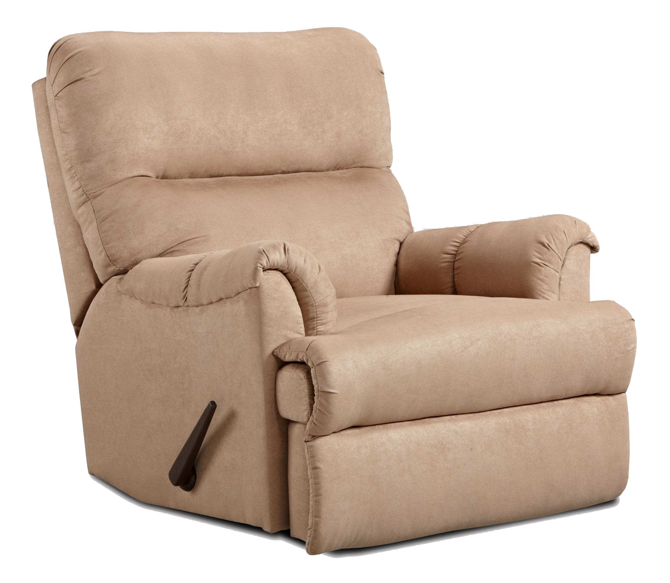 2155 Chaise Rocker Recliner by Affordable Furniture at Wilcox Furniture