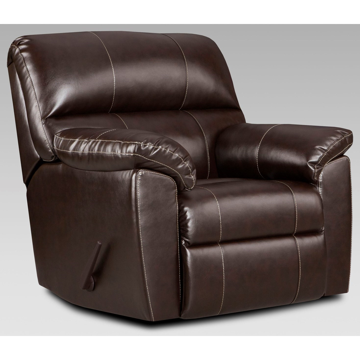 2450 Recliner by Affordable Furniture at Wilcox Furniture