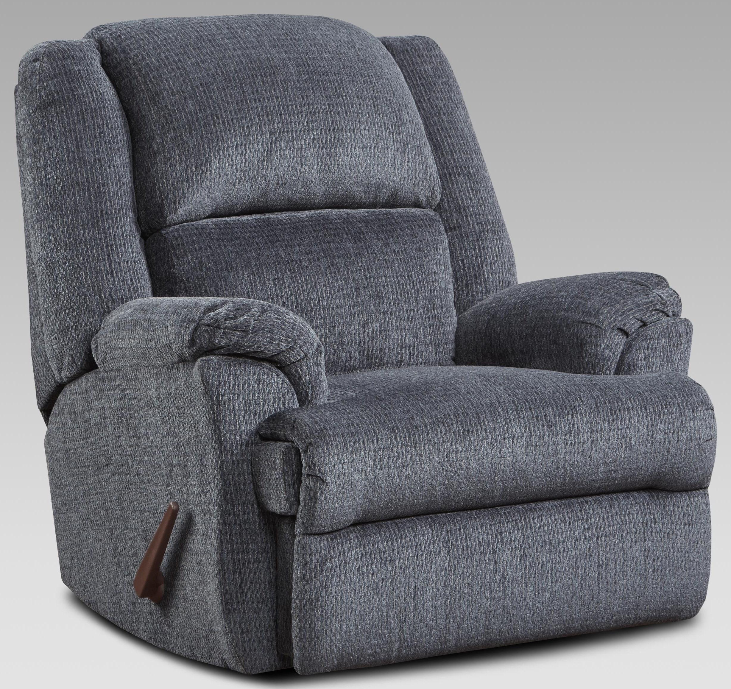 2600 2600 INDIGO RECLINER by Affordable Furniture at Furniture Fair - North Carolina