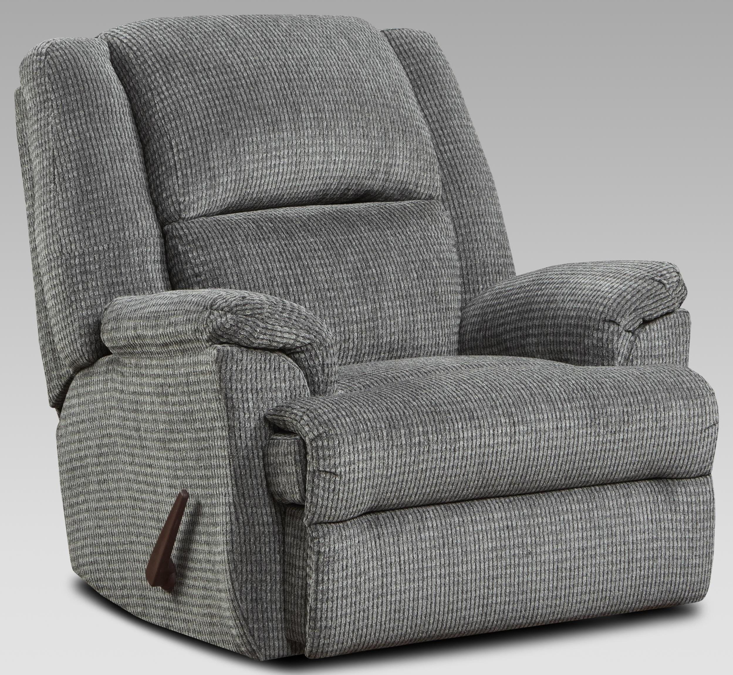 2600 2600 PEWTER RECLINER by Affordable Furniture at Furniture Fair - North Carolina