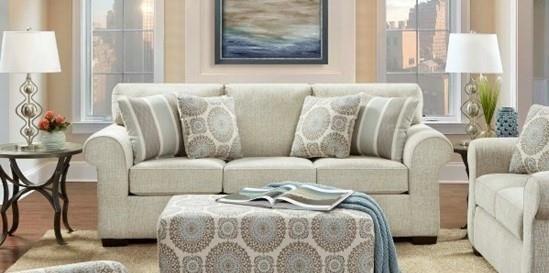 3440 Queen Sleeper Sofa by Affordable Furniture at Furniture Fair - North Carolina