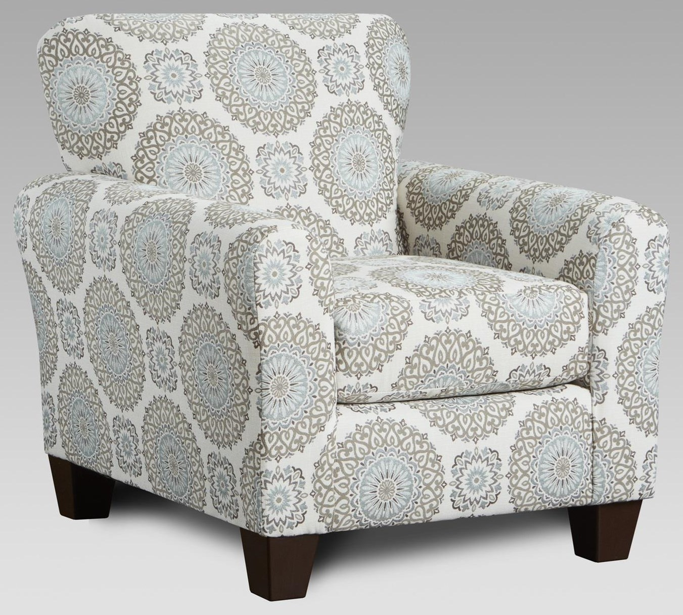 3440 Upholstered Accent Chair by Affordable Furniture at Furniture Fair - North Carolina
