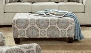 3440 Accent Ottoman by Affordable Furniture at Furniture Fair - North Carolina