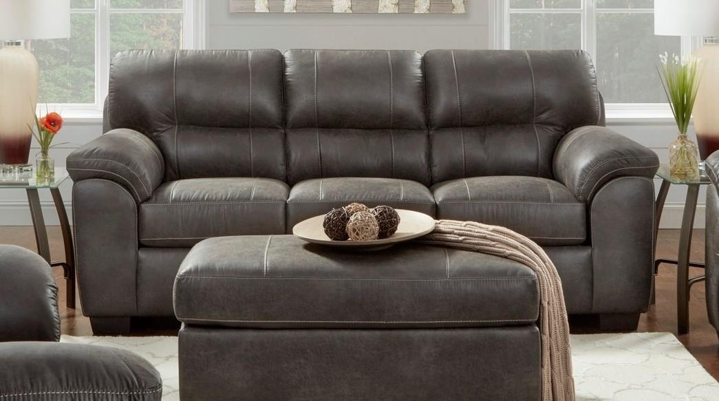 5600 SEQU ASH QUEEN SLEEPER SOFA by Affordable Furniture at Furniture Fair - North Carolina