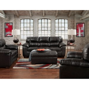 2 Piece Sofa and Chair Stationary Living Room Group