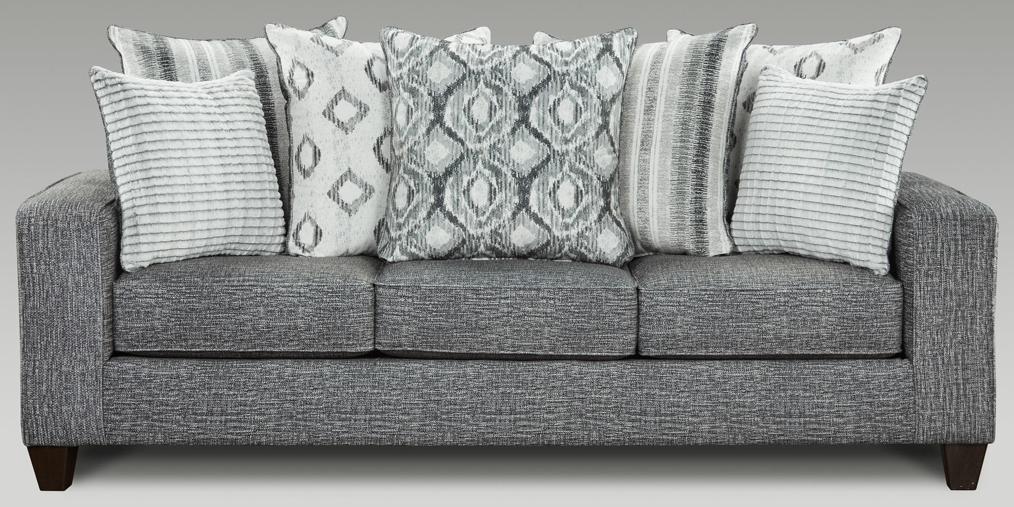 5850 Sectional Contemporary Sofa by Affordable Furniture at Furniture Fair - North Carolina