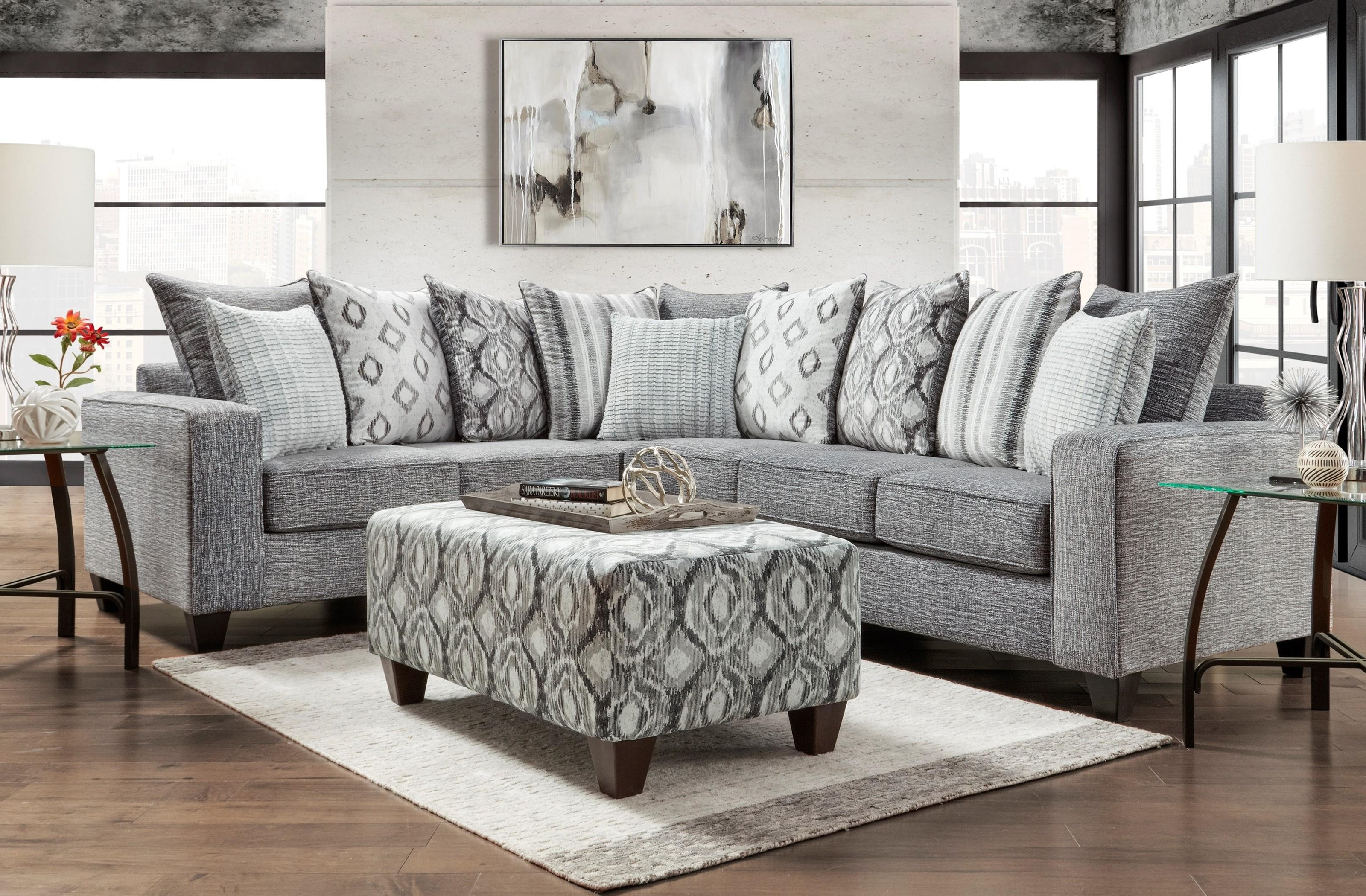 5850 Sectional Two Piece Sectional by Affordable Furniture at Furniture Fair - North Carolina