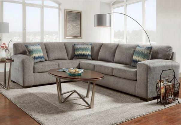 Silverton Pewter Sectional Sofa