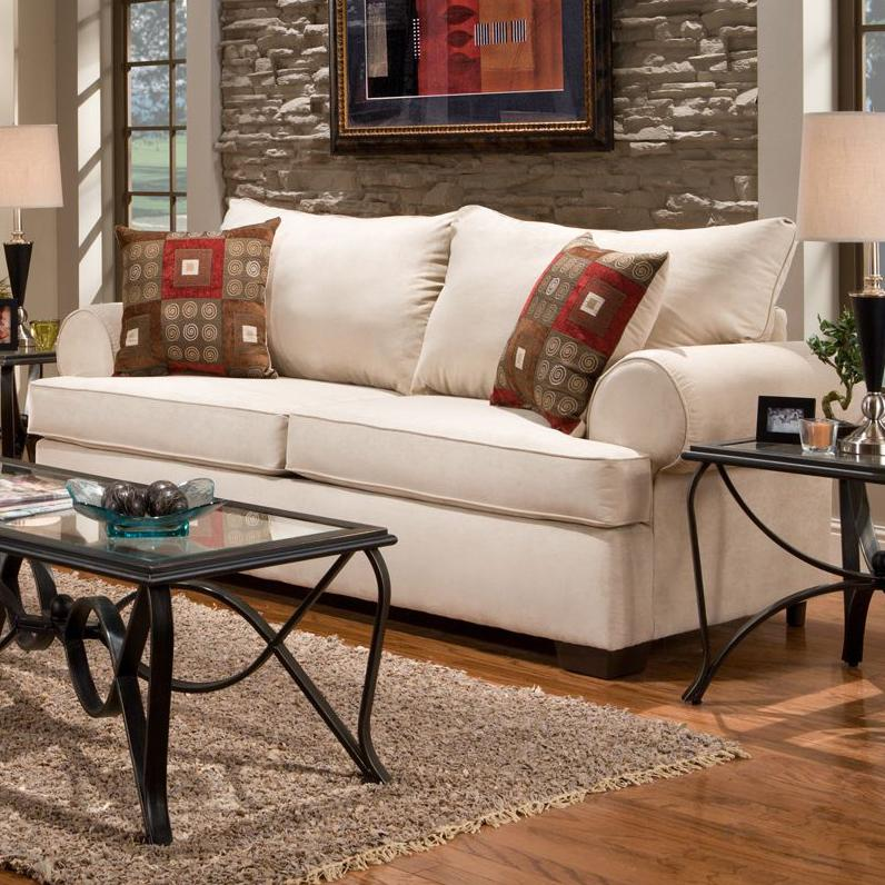 6400 Sofa by Affordable Furniture at Wilcox Furniture