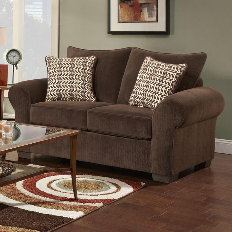 7300 Loveseat by Affordable Furniture at Wilcox Furniture