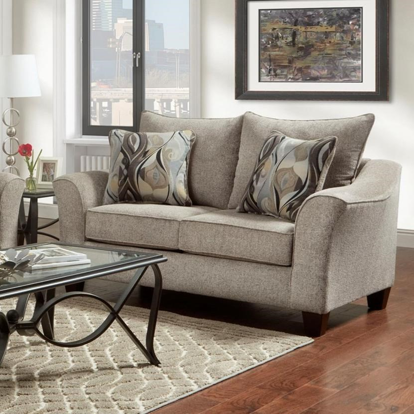 7700 Loveseat by Affordable Furniture at Wilcox Furniture