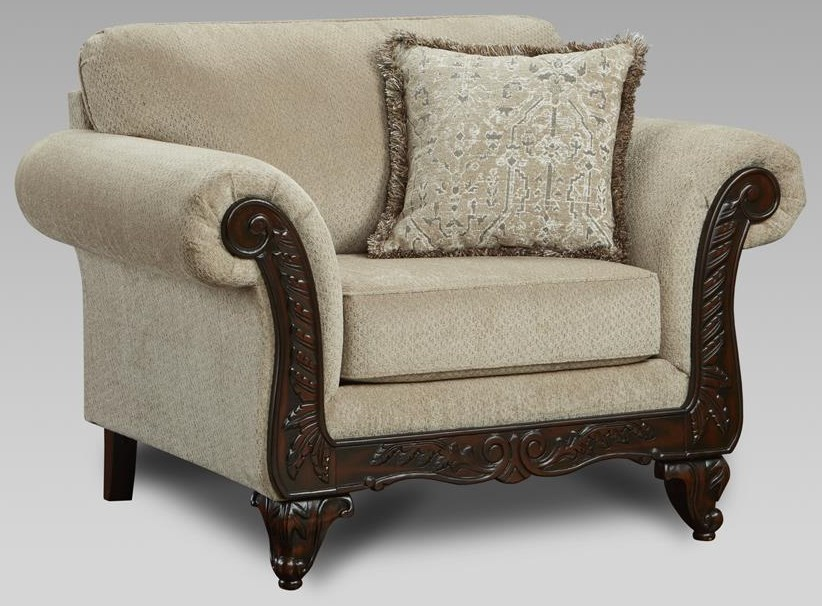 8550 Emma Upholstered Chair by Affordable Furniture at Furniture Fair - North Carolina
