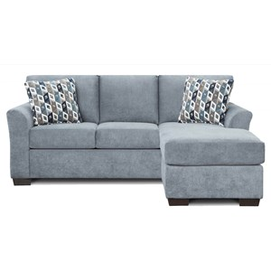 Queen Sleeper Sofa with Chaise