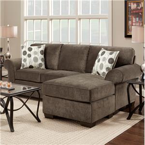 Stationary Sofa w/ Chaise