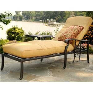 Agio Amalfi Cushioned Chaise