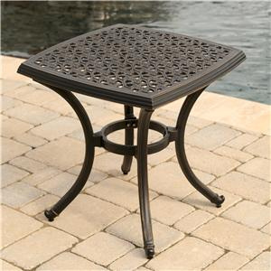 Agio Amalfi Square End Table