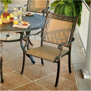 Agio Ashmost Outdoor Sling Dining Chair