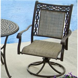 Apricity Outdoor Ashmost Sling Swivel Rocker