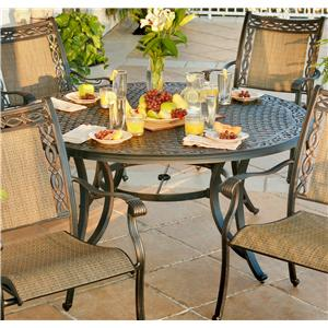 Agio Ashmost Round Outdoor Dining Table