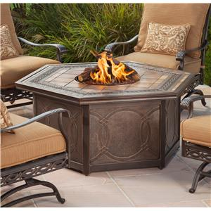 Agio Ashmost Firepit Chat Table