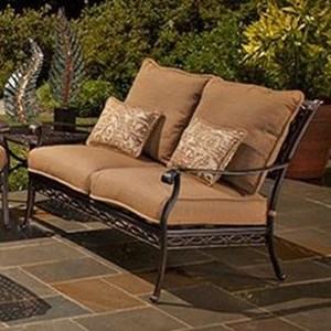 Agio Ashmost Loveseat with Cushions