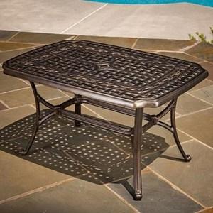 Agio Ashmost Aluminum Cast Coffee Table