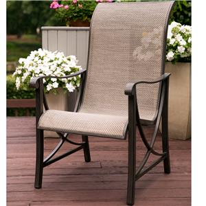 Apricity Outdoor Davenport Dining Chair