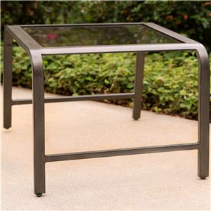 Apricity Outdoor Davenport Side Table